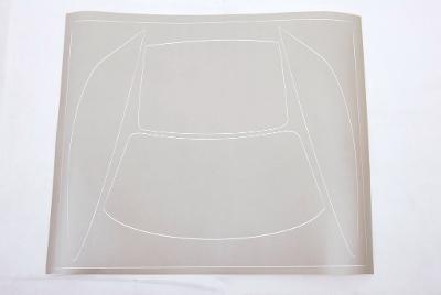 Polepy okna, pův. asi pro Porsche 1:10 CARSON