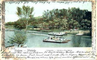 Piešťany 1905 , loď