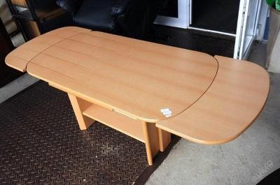 Konferenční stolek,rozkládací,nastav. výška (7078)