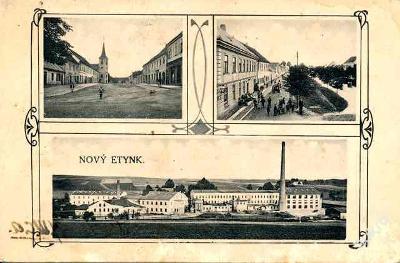 Nová Včelnice 1928 - Jindřichův Hradec , továrna , /4260/