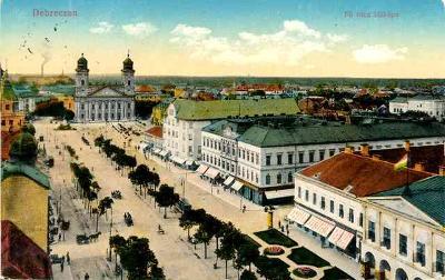 Maďarsko ,Debreczen 1916
