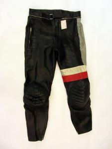 Kožené kalhoty LOUIS vel. 50/M - pas: 80 cm