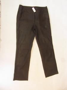 Kožené broušené kalhoty MADDOX vel. 42 - pas:88c