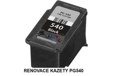 renovace kazety PG540 s rozšířením na XL verzi