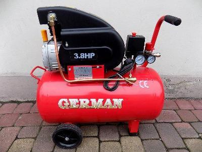 3,8HP Kompresor olejový 50l 8bar 2,8kW 220/MIN GER