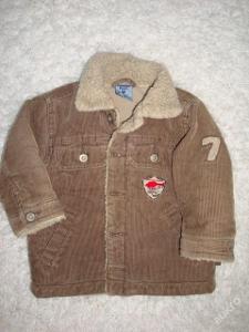 dětská bunda s kožíškem vel. 86