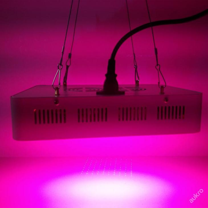 300W led světlo pro pěstování rostlin, plné spektr - Elektronika