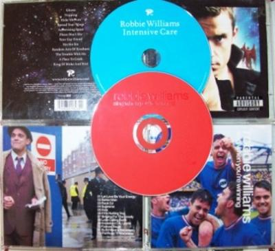 2 CD ROBBIE WILLIAMS Intensive Care / Sing When You´re Winning SLEVA
