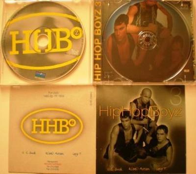 CD HIP HOP BOYZ 3  RECORD EXPRESS jako NOVÉ