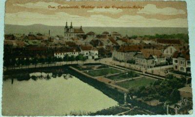 Duchcov - Dux Totalansicht Walther von der Vogelweide Anlage