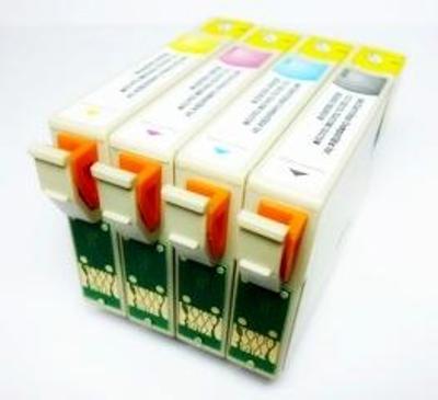 Kompatibilní náplně T0711-4 pro Epson DX4450 DX5000 DX5050 sada 4ks