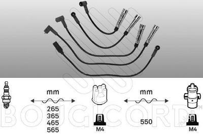 Zapalovací kabely VW GOLF III IV VENTO - 1.8 2.0