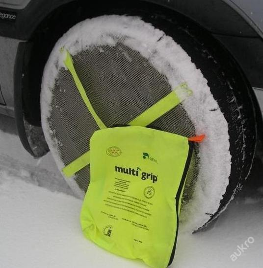 Látkové textilní sněhové řetězy, různé velikosti ! - Náhradní díly a příslušenství pro osobní vozidla