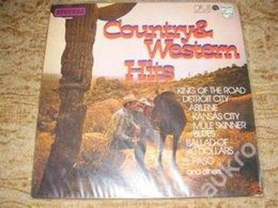 LP - COUNTRY AND WESTERN HITS