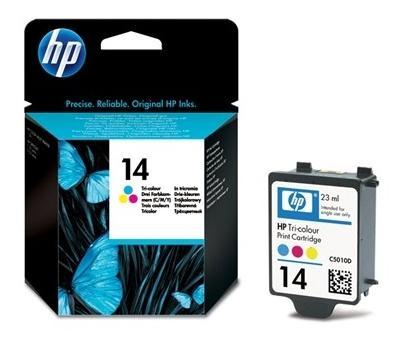 Originální náplň HP 14 Barevná / Color (C5010DE)