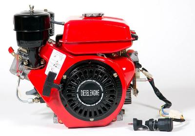 Dieslový naftový motor GERMAN 6,5HP DIESEL E-S