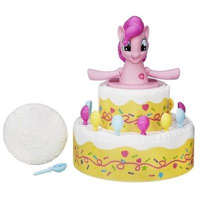 My little pony poppin Pinkie Pie poník v dortu