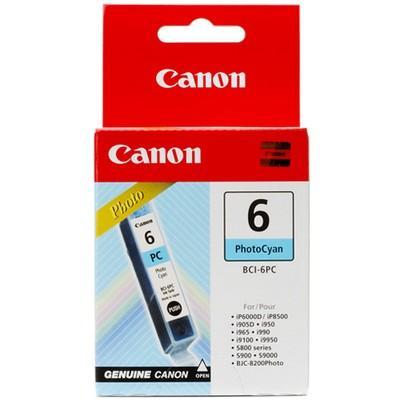 Originální náplň CANON BCI-6PC Photo Cyan