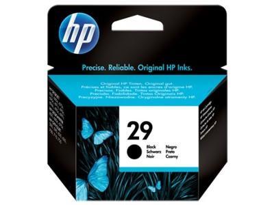 Originální náplň HP 29 Černá / Black (51629AE)