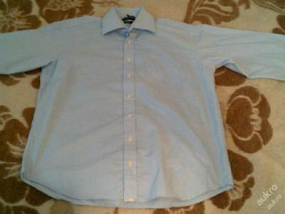pěkná modrá košile vel. 41 GILBERTO