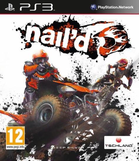 NAIL'D - NAILD - PS3 - PLAYSTATION 3 - NOVÁ - Hry
