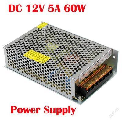 Spínamý zdroj pro LED pásek 220V - 12V 5A adaptér