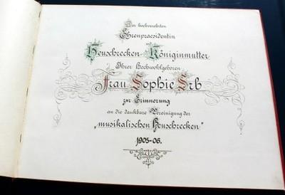 Der gesangverein brullaria  1893 (special edition)
