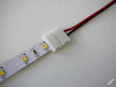 Spojka konektor 1barevný LED pásek s kabelem 10 mm