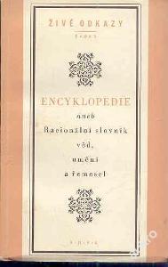 Encyklopedie aneb Racionální slovník věd,umění a ř