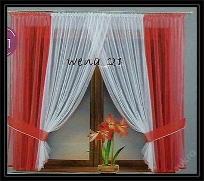 Šijeme záclony  Sada VOALU-barvy  ŠÍŘKA 4m