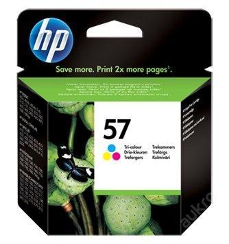 Originální náplň HP 57 Barevná / Color (C6657AE)