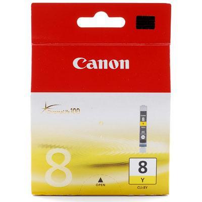 Originální náplň CANON CLI-8Y Yellow / Žlutá