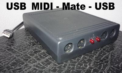 Midi pro PC-1*USB do 4*MIDI_ 2*OUT,1*IN,1*THRU