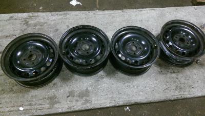 """4 plechové disky AUDI  4x108  15"""""""