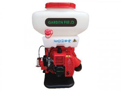 Motorový zádový postřikovač GARDEN FIELD 20 l  jednou použitý