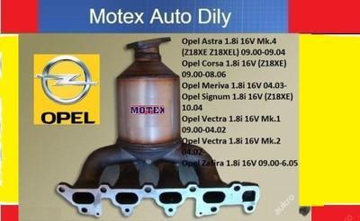 Katalyzátor Opel Astra Meriva Vectra 1.8 16V