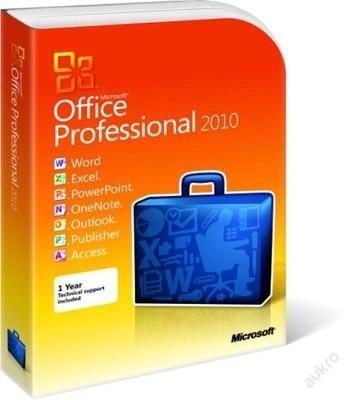 Microsoft Office 2010 Professional Plus + FAKTURA