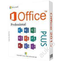 MS Office 2013 Professional Plus + Faktura