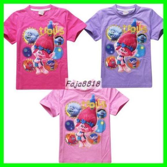 ! Dětské tričko Trolls / Troll / Trollové, vel.110-150 (Poppy...) - Oblečení