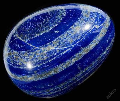 Lapis lazuli vejce obrovské, 4,5kg, cca 18cm !!!