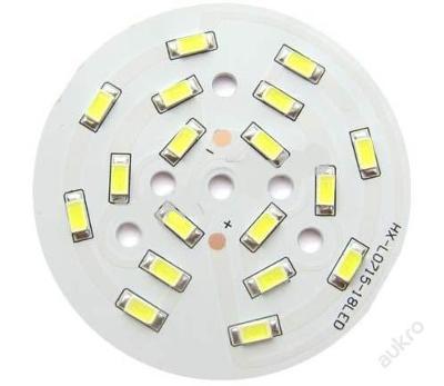 LED destička 18x SMD 5730 9W 800Lm (=60W) 65mm