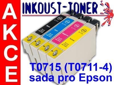 Náplně T0711 T0712 T0713 T0714 ( T0715 ) pro EPSON