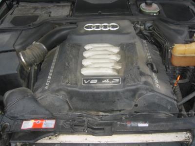 AUDI A8 4.2 228kw - motor  AUW, AQF