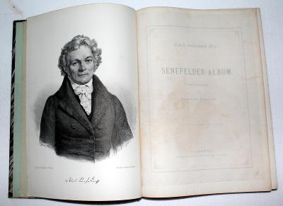 SENEFELDER ALBUM, FERDINAD SCHLOTKE, 1871