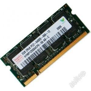 Paměť do notebooku SO-DIMM 2GB DDR2 800MHz CL5