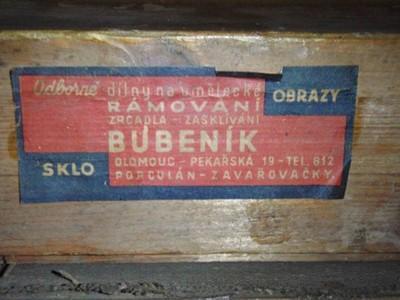 PÁLAVSKÉ KOPCE - JOSEF RULÍŠEK 1939 XXXXXXL PLÁTNO - Umění