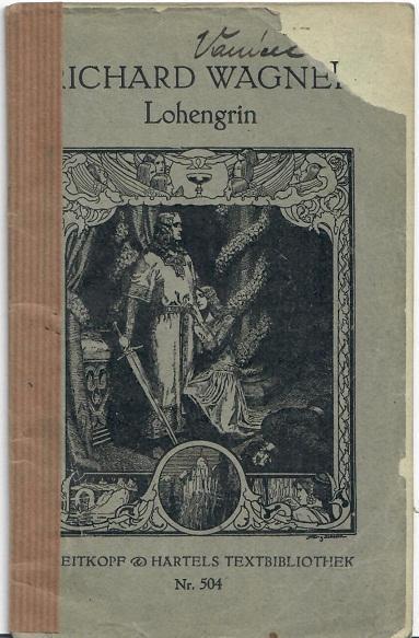 Lohengrin - Knihy