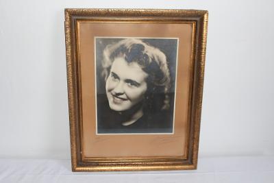 FOTOGRAFIE PŘEROV R. 1945, S VĚNOVÁNÍM