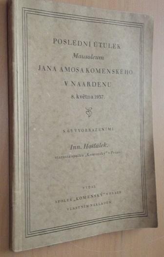 Poslední útulek Jana Ámosa Komenského v Naardenu