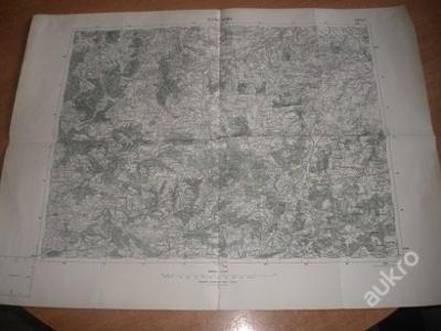 mapa Kutná Hora - 1:75 000
